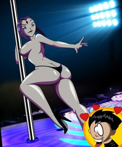 Raven Teen Titans Anal Sex Addicting